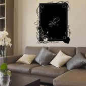 Heart - Chalkboard / Blackboard Wall Stickers