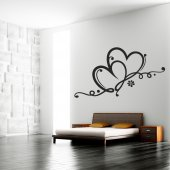 Heart Wall Stickers