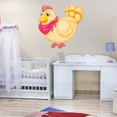 hen Wall Stickers