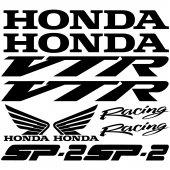 Honda vtr sp2 Aufkleber-Set