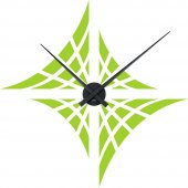Illusion Clock Wall Stickers