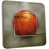Interrupteur Décoré Poussoir Basket-Ball 2