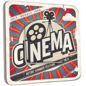 Interrupteur Décoré Poussoir Cinéma