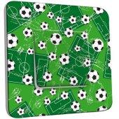 Interrupteur Décoré Poussoir Football 4