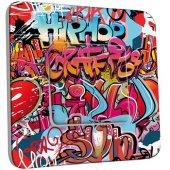 Interrupteur Décoré Poussoir Graffiti HipHop