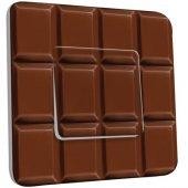 Interrupteur Décoré Poussoir Tablette de chocolat