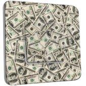 Interrupteur Décoré Simple Dollars