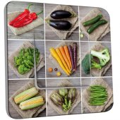 Interrupteur Décoré Simple Légumes