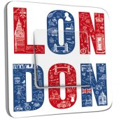 Interrupteur Décoré Simple London