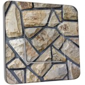 Interrupteur Décoré Simple Pavé pierre