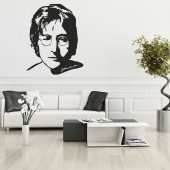John Lennon Wall Stickers