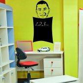 Karim Benzema - Chalkboard / Blackboard Wall Stickers
