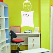 Karim Benzema - Whiteboard Wall Stickers