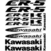 Kawasaki ER-5 Aufkleber-Set