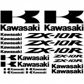 Kawasaki ZX-10r Decal Stickers kit