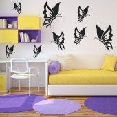 Kit Adesivo Murale 18   farfalle
