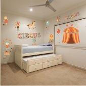 Kit Adesivo Murale bambini circo