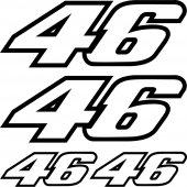 kit autocolant 46