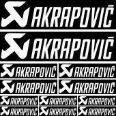 kit autocolant Akrapovic