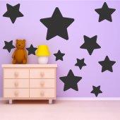 Kit Autocolante decorativo  18 estrelas