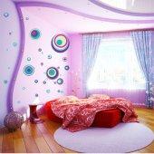 Kit Autocolante decorativo círculos