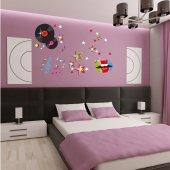 Kit Autocolante decorativo disco