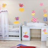 Kit Autocolante decorativo infantil patchwork