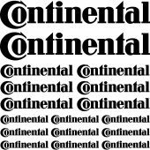 Kit stickers continental
