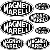Kit stickers magneti marelli
