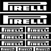 Kit stickers pirelli