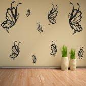 Kit Vinilo decorativo  14 mariposas