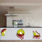 Kiwi Set Wall Stickers