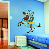 Knight Wall Stickers