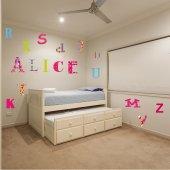 Komplet  naklejek Dla Dzieci - Alfabet