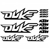 Ktm 690 duke Decal Stickers kit