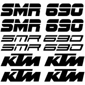 Ktm 690 smr Decal Stickers kit