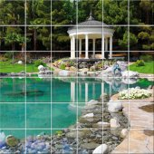 Landscape - Tiles Wall Stickers