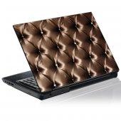 Laptop-Aufkleber Leder Textur