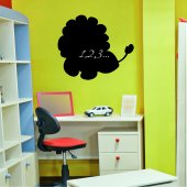 Lion - Chalkboard / Blackboard Wall Stickers