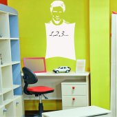 Lionel Messi - Whiteboard Wall Stickers