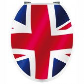 London - Toilet Seat Decal Sticker