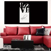 Love - Whiteboard Wall Stickers