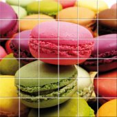 Macaroons - Tiles Wall Stickers