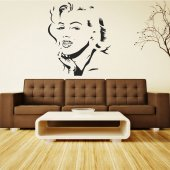 Marilyn Monroe Wall Stickers