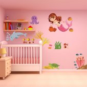 Marine Set Wall Stickers