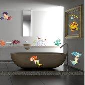 Mermaid Set Wall Stickers