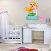 Mermaid Wall Stickers