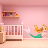 Mermaid Wall Stickers