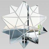 Miroir Acrylique Plexiglass Etoiles Mosaïque