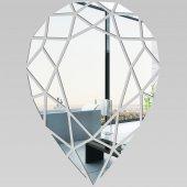 Miroir Acrylique Plexiglass Goutte Mosaïque